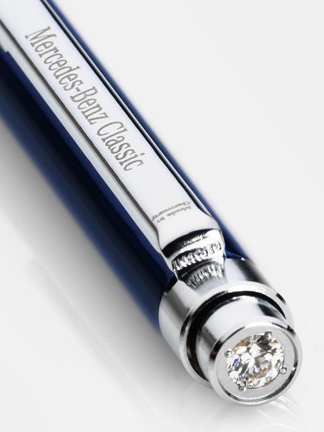 Шариковая ручка, blue, metal