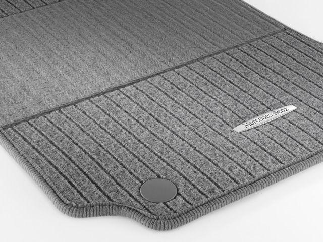 """Рипсовые коврики CLASSIC, комплект, из 4-х частей, """"Серая альпака"""""""