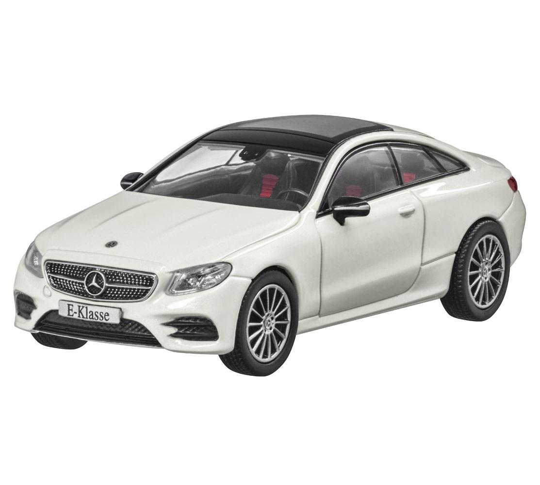 Модель Mercedes-Benz E-Class Coupé (C238),AMG Line, Scale 1:43, Designo Diamond White Bright