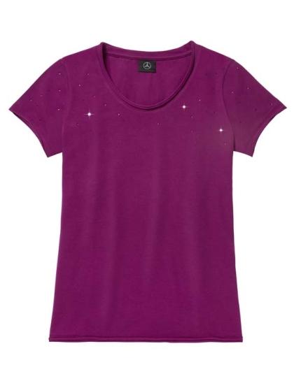 Женская футболка Mercedes Women's T-shirt, Plum S