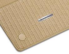 Рипсовые коврики CLASSIC, комплект, из 4-х частей, бежевые