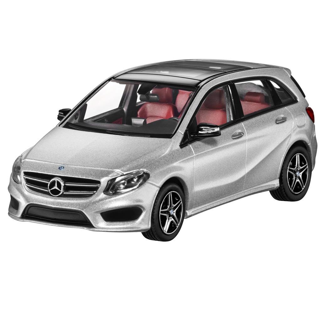 Модель Mercedes-Benz B-Class AMG Styling, Silver , 1:43
