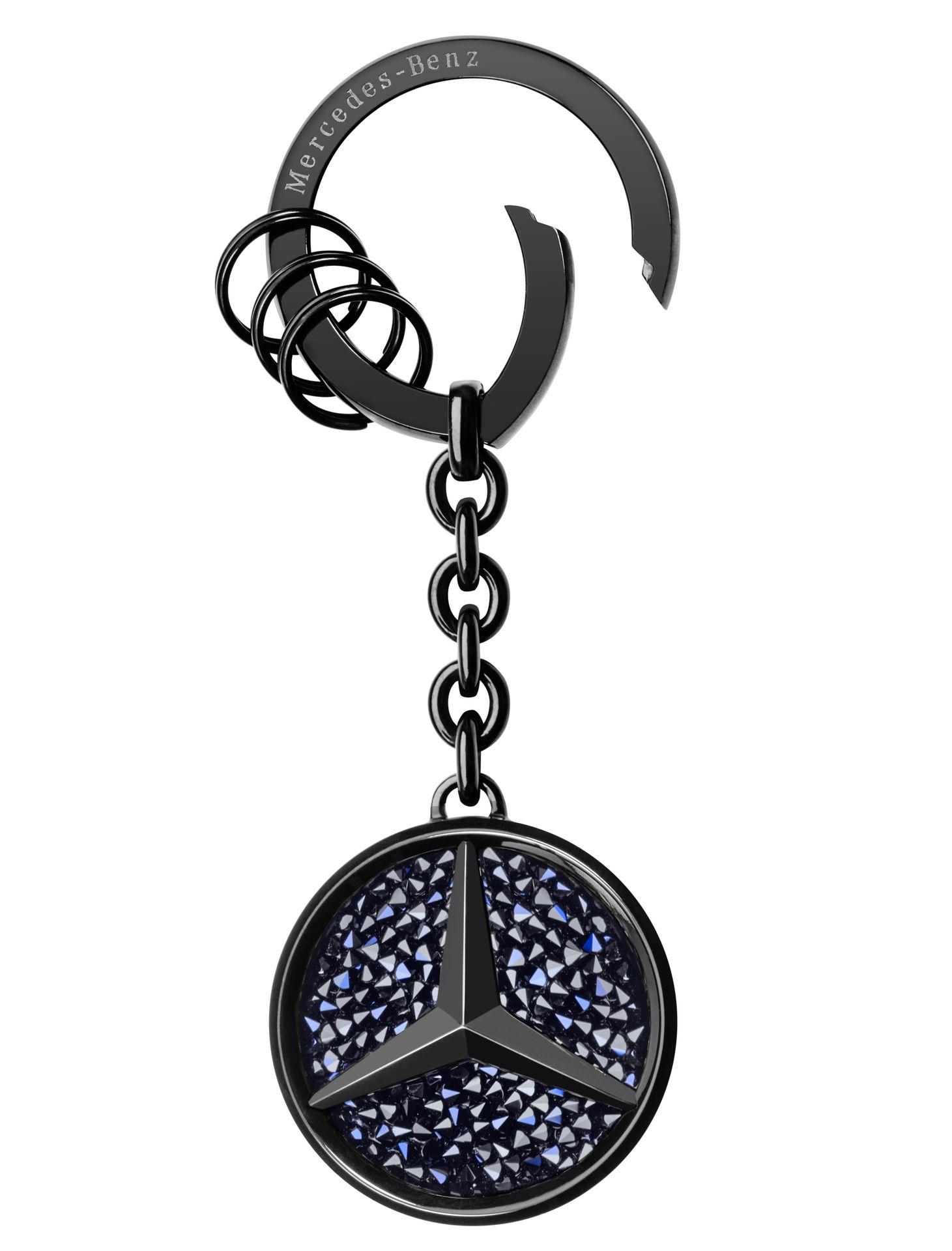 Брелок для ключей Mercedes-Benz Key Ring, Saint-Tropez, Black Edition 2017