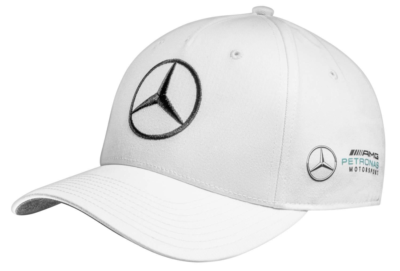 Бейсболка Mercedes F1 Cap Valtteri Bottas, White