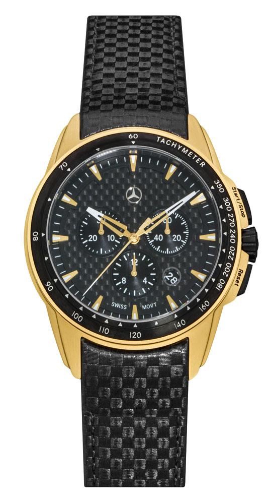 Часы-хронограф мужские Motorsport Gold Edition
