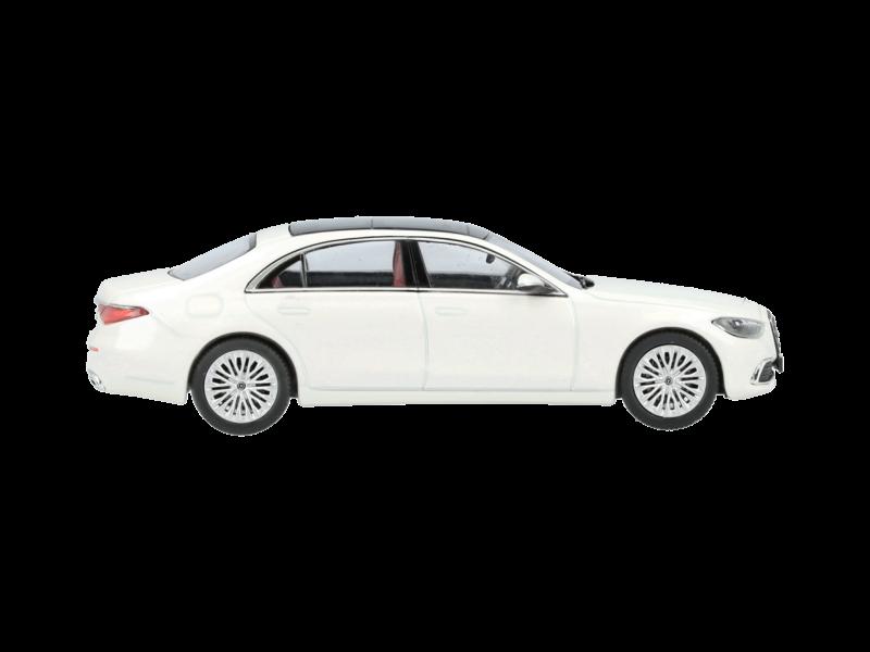 """Модель S-Класс, Седан, V223, """"Белый бриллиант яркий"""", 1:43"""