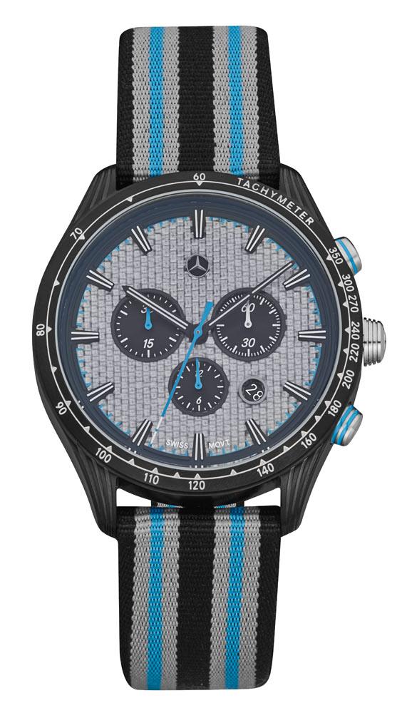Часы-хронограф мужские Motorsport Chrono Silver