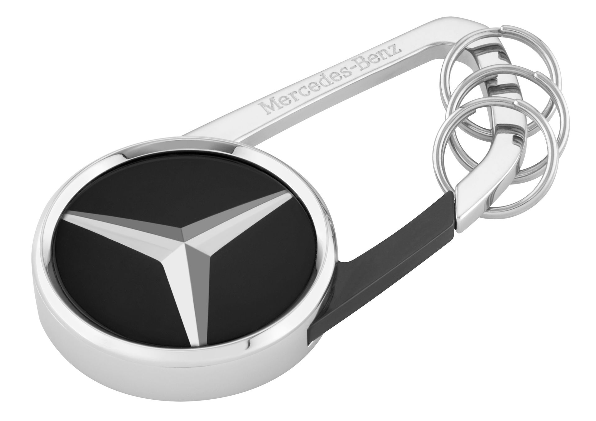 Брелок Mercedes-Benz Key Ring Cape Town, Black/Silver