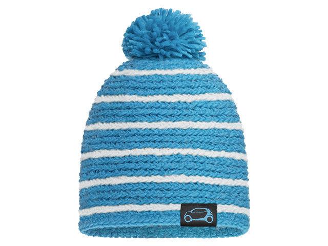 Вязаная шапочка, Proxy синий / белый