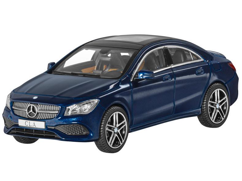 Модель Mercedes-Benz CLA, Coupe, Cavansite Blue, Scale 1:43