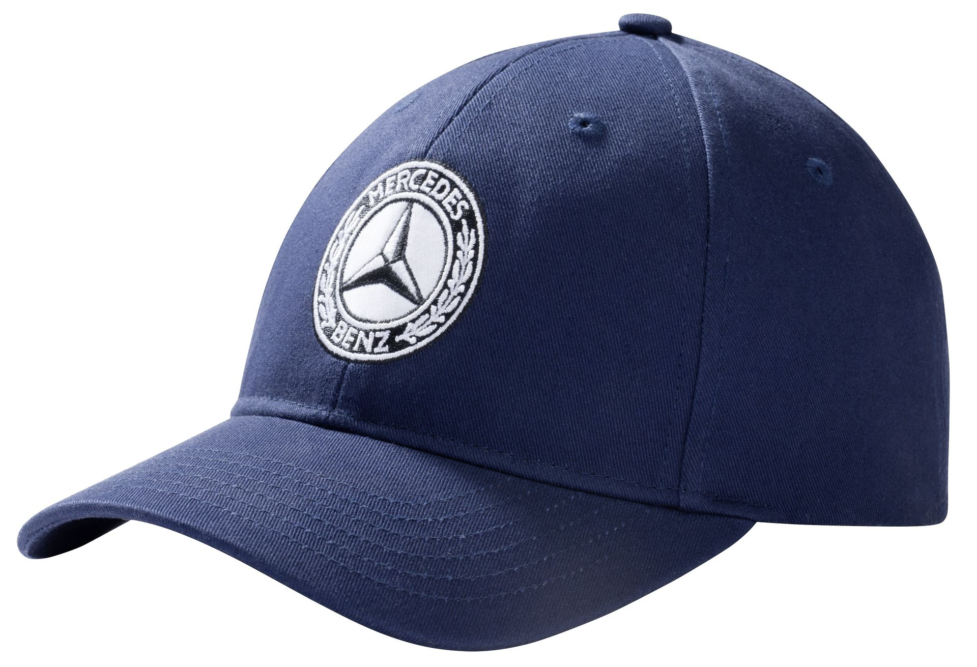 Мужская бейсболка Mercedes Men's Cap Navy Blue, 100% Cotton