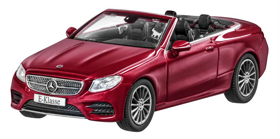 Модель Mercedes-Benz E-Class Cabriolet (A238),AMG Line, Scale 1:43, Designo Hyacinth Red Metallic