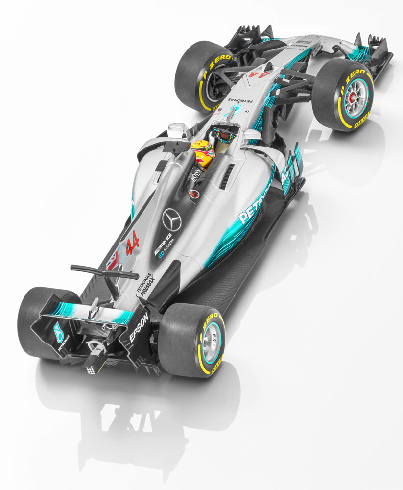 Модель MERCEDES AMG PETRONAS F1, 2017, Льюис Хэмилтон