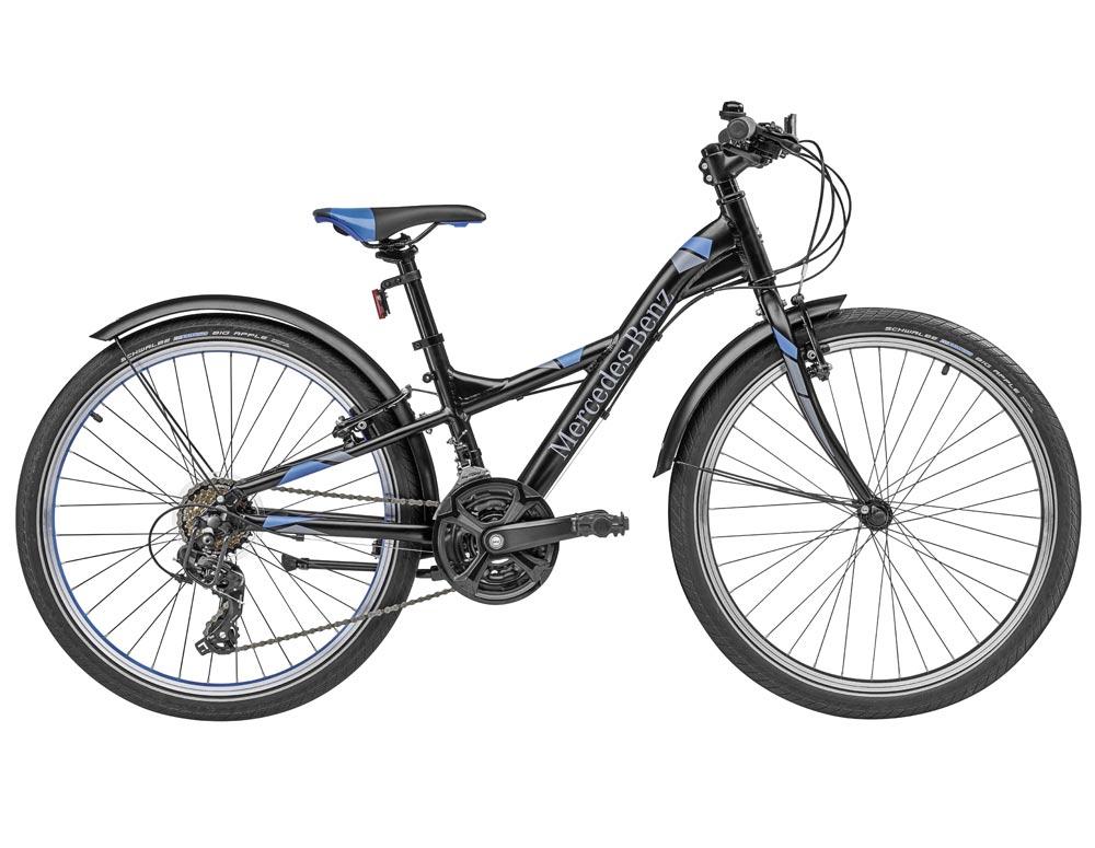 Велосипед детский с 8 лет, черный