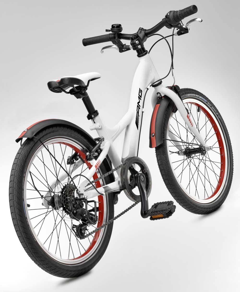 Детский велосипед Mercedes-Benz Chidren's Bike, White, EU