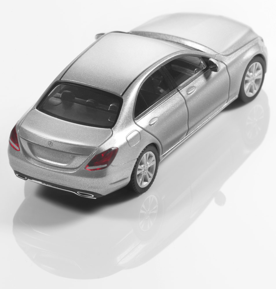 Модель C-Класс седан Avantgarde,1:87, серебристый