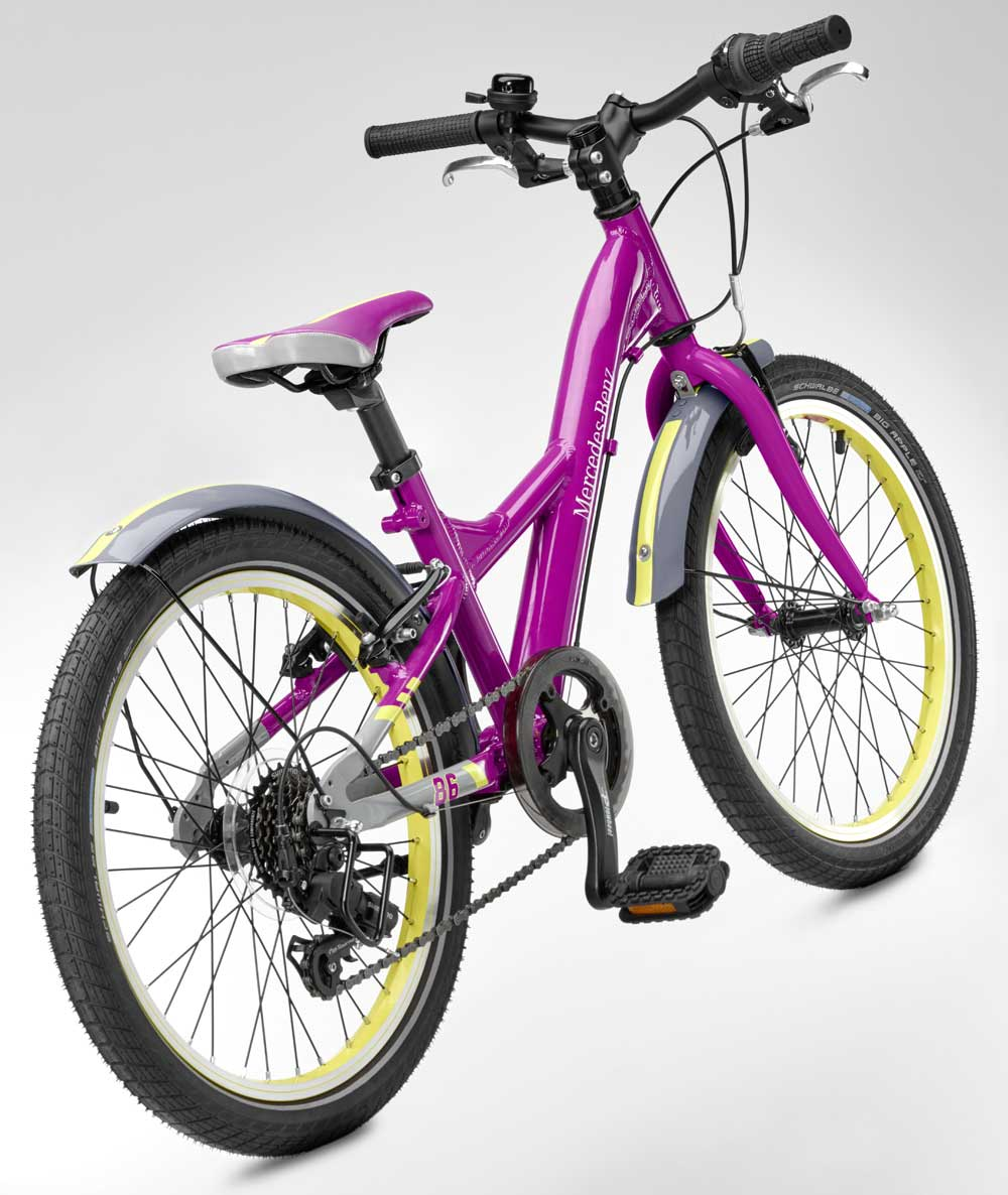 Детский велосипед Mercedes-Benz Chidren's Bike, Purple, EU