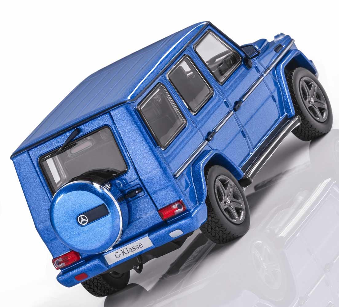Модель Mercedes-Benz G-Class, W463, Model year 2015, Blue