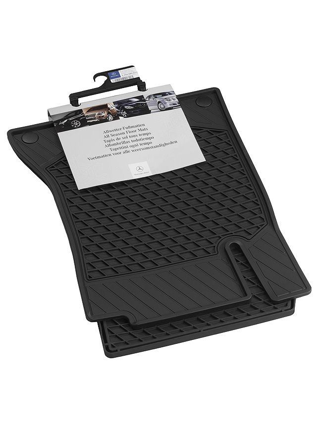 Всесезонные коврики, CLASSIC, Коврик водителя / переднего пассажира, из 2-х частей, черный