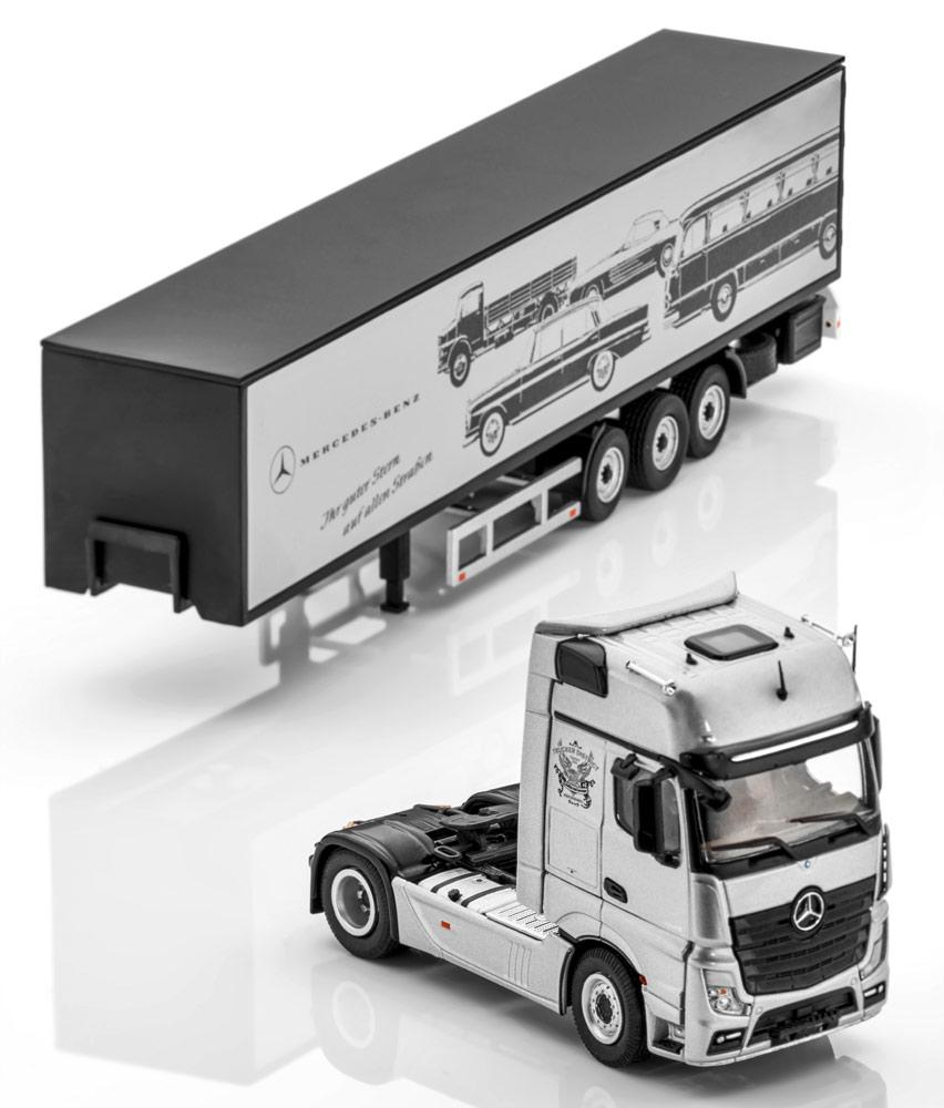 Модель Actros, FH25 GigaSpace, Седельный автопоезд