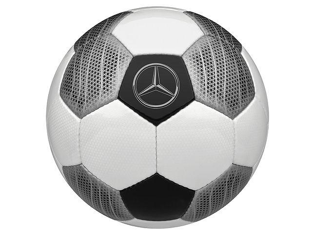 Футбольный мяч изготовленный эксклюзивно для «Мерседес-Бенц»