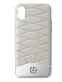 Кожаный чехол для iPhone® X Mercedes Cover for iPhone® X, Grey