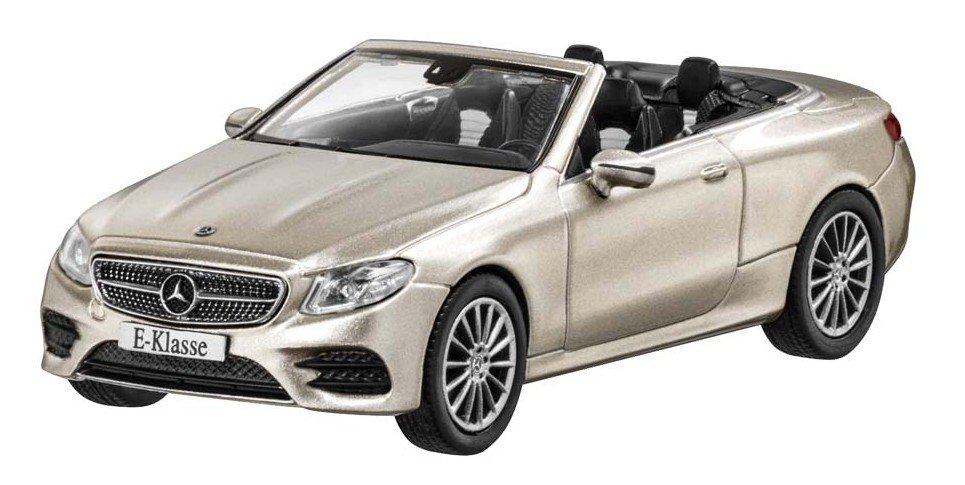 Модель Mercedes-Benz E-Class Cabriolet (A238),AMG Line, Scale 1:43, Aragonite Silver