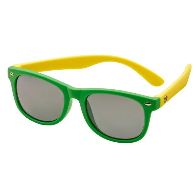 Детские солнцезащитные очки Mercedes-Benz Children's Sunglasses, Green / Yellow