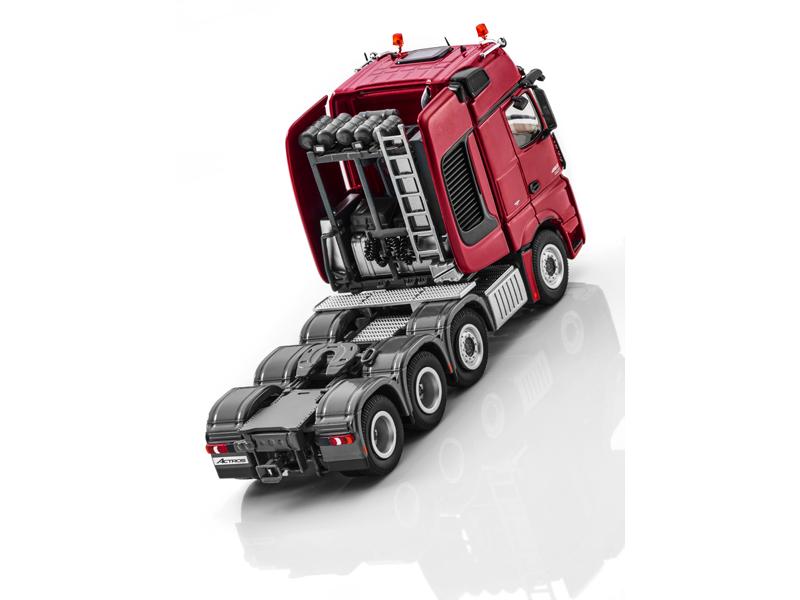 Модель Actros, Большегрузный тягач, Седельный тягач «Красный рубин», NZG, 1:50
