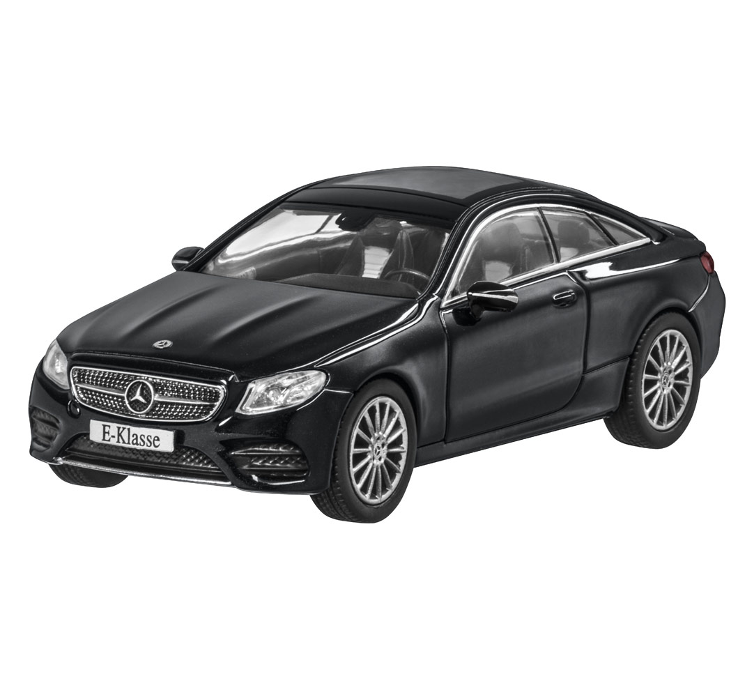 Модель Mercedes-Benz E-Class Coupé (C238),AMG Line, Scale 1:43, Obsidian Black