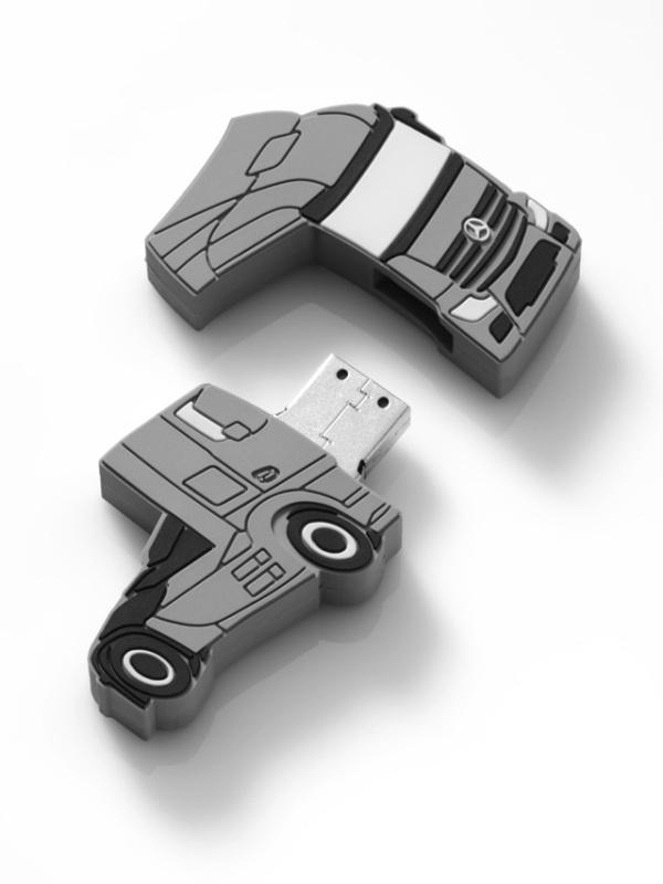 Флешка Mercedes-Benz Trucker USB-Stick, 4 GB