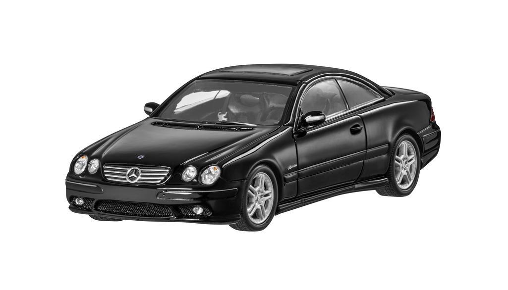 Модель CL 65 AMG C 215 (2003 - 2005),Black, 1:43