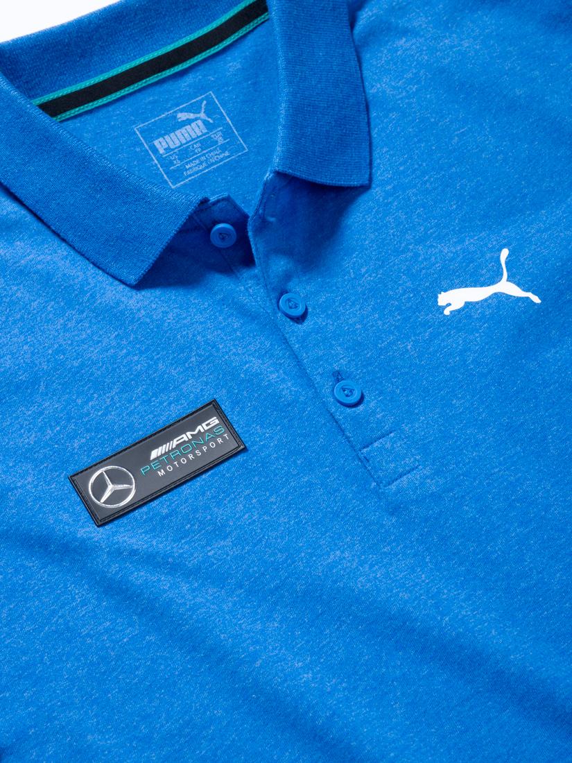 Мужская футболка поло, синяя