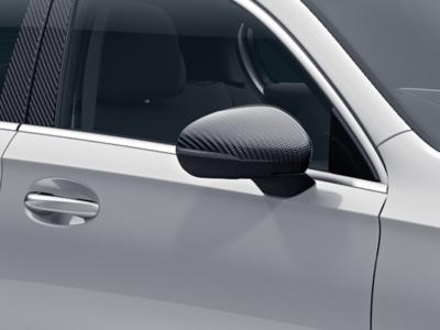 Корпус наружного зеркала карбон для Mercedes A class W177