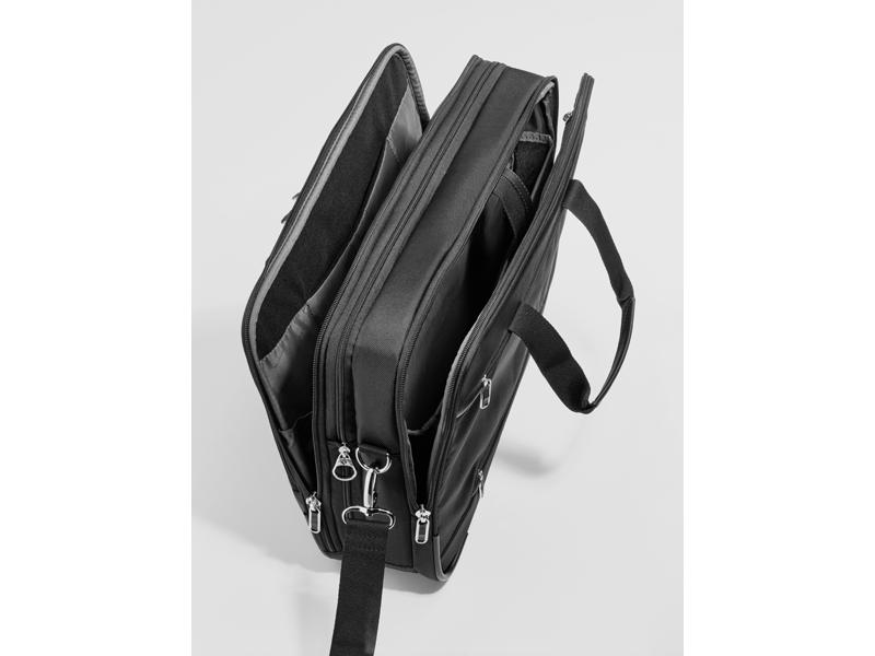 Сумка для ноутбука, X'Blade черный, 98% Полиэстер / 2% Полиуретан, Samsonite