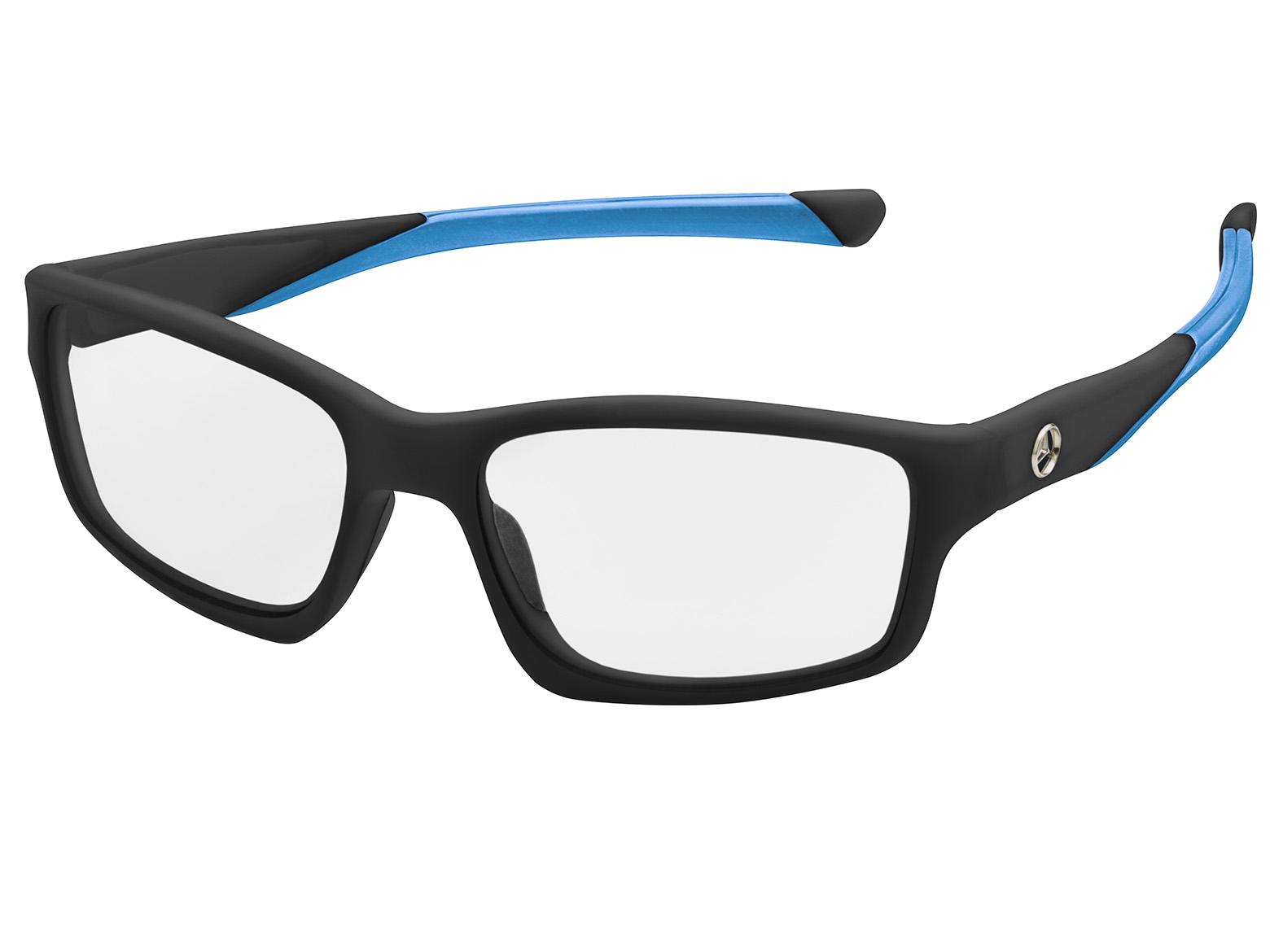 Солнцезащитные очки Mercedes Sunglasses, Sport, Black / Blue