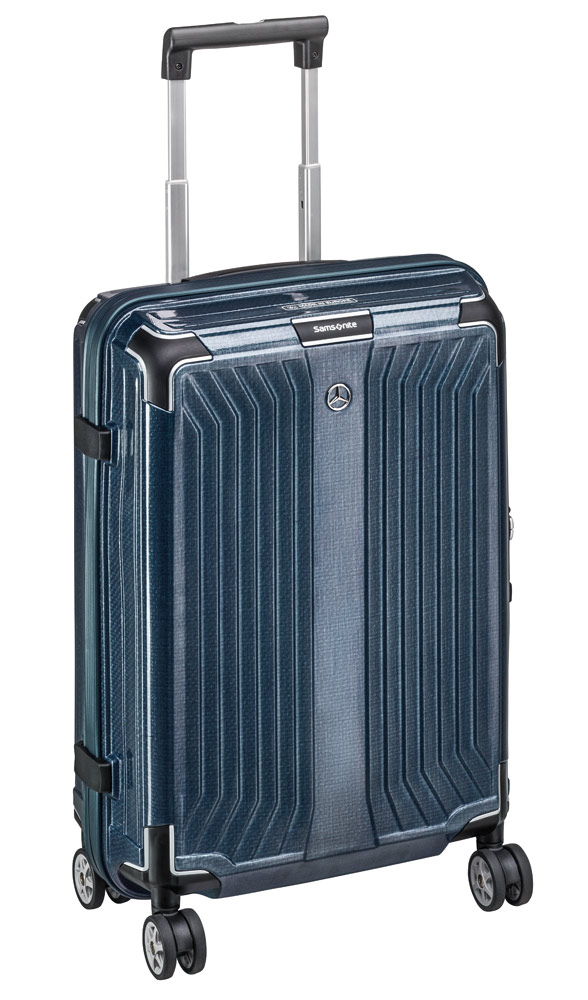 Чемодан Samsonite Lite-Box, Spinner 55, размер S, синий