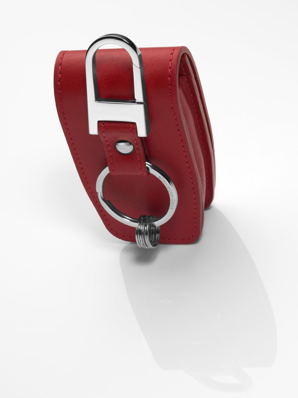 Чехол для автомобильного ключа, красный