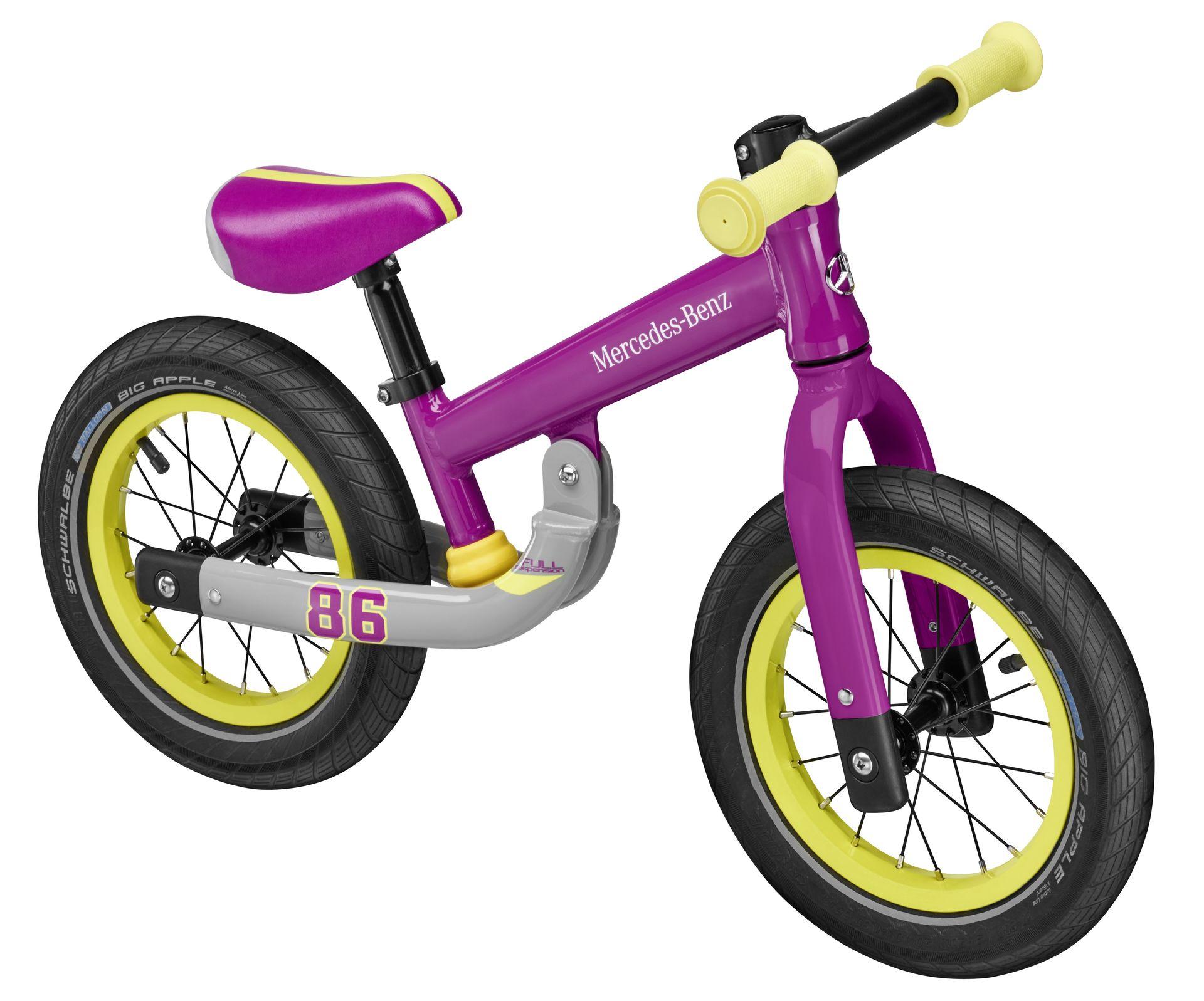 Детский беговел Mercedes Balance Bike, Purple