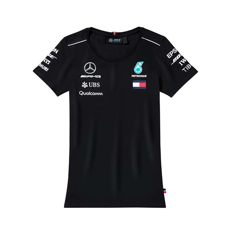 Женская футболка Mercedes AMG Petronas Ladie's T-shirt, Black XXS