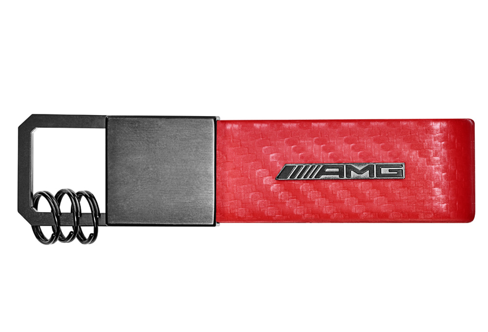 Брелок для ключей AMG, красный