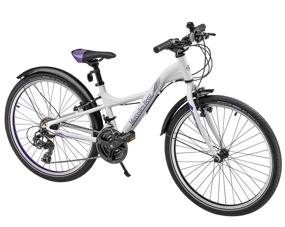 Велосипед детский с 8 лет, белый