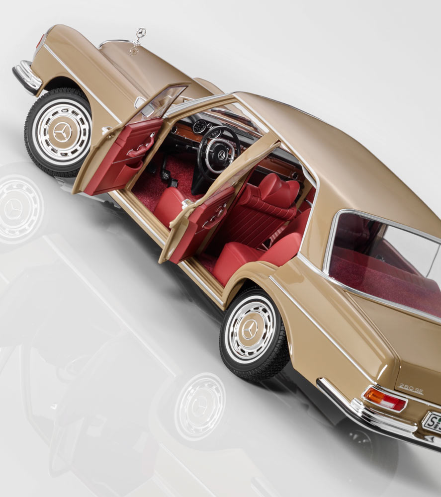 Модель 280 SE, W108 (1965–1972)