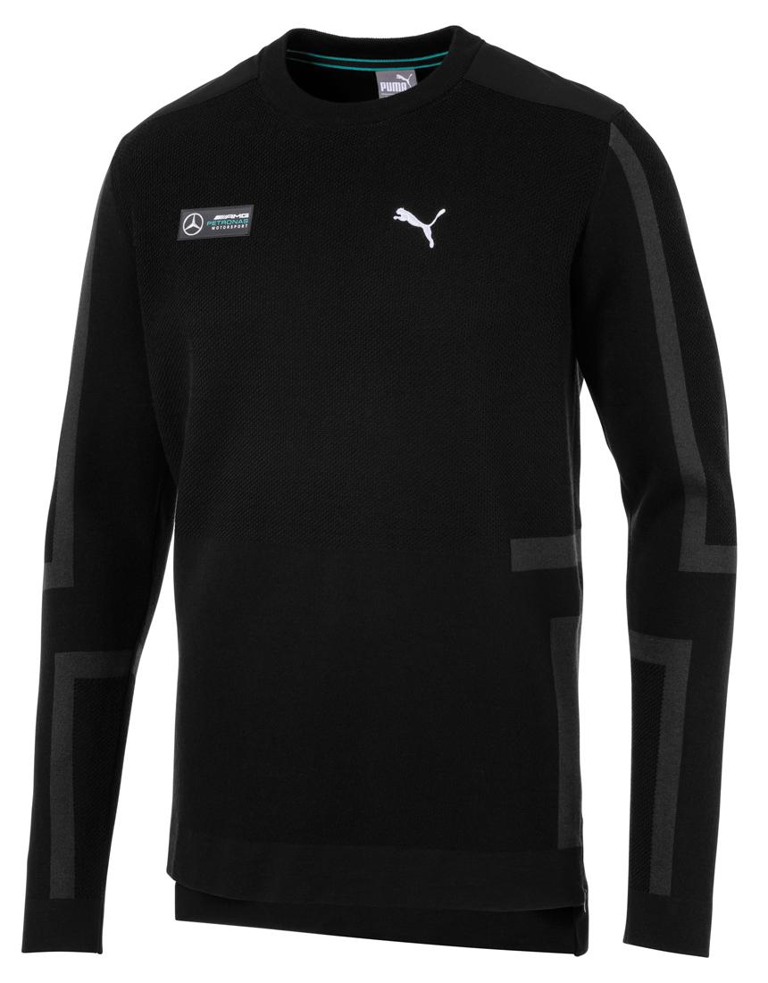 Мужской пуловер, черный