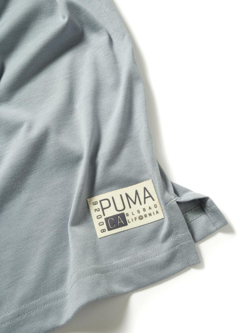 Мужская футболка поло от PUMA для Mercedes-Benz, серая
