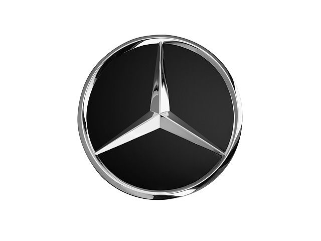 Крышка ступицы колеса, Звезда черного цвета