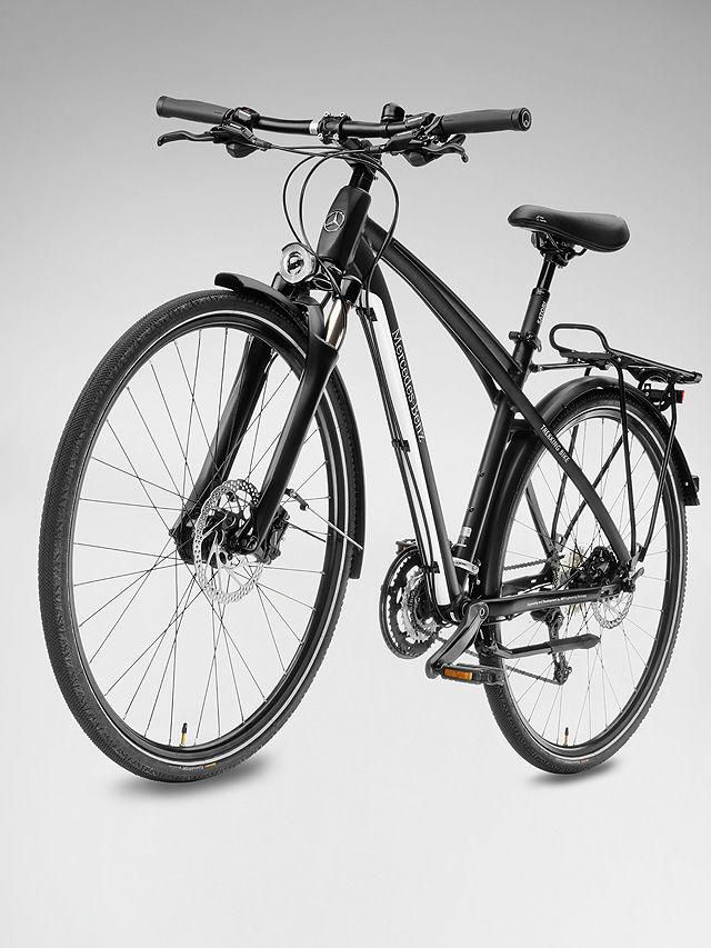 Велосипед Mercedes-Benz Trekking Bike 29, черный / белый, 49 см