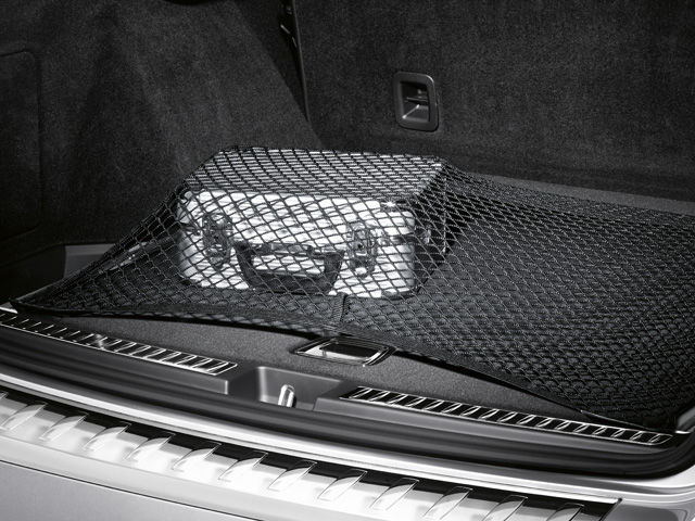Багажная сетка на полу багажника