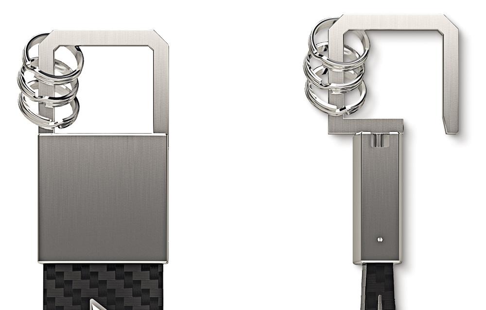 Брелок для ключей AMG, черный
