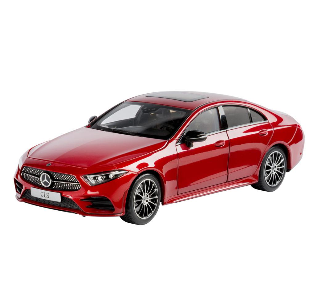 Модель автомобиля CLS купе AMG Line C257, 1:18, красный